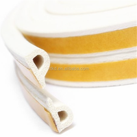 EPDM sponge rubber seal sheeting with adhesive back tape