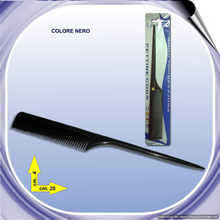 Black Only Afro Hair Combs with Long Handle