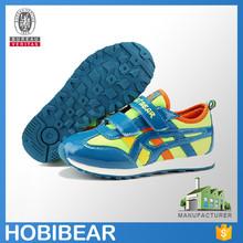 HOBIBEAR 2015 new fashion active wholesale original child running branded shoe
