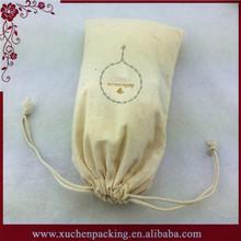 Organic Cotton Fabric Drawstring Bag