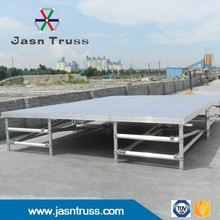 Outside show new aluminum stage portable stage mobile stage