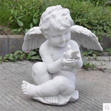factory price wholesale of resin cupid statue