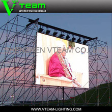 VTEAM P10 SMD full color indoor&outdodor LED video screen