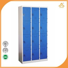 Blue Factory direct sale god price iron storage cabinets indian godrej steel almirah