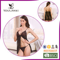 Fast Delivery Elegant Transparent Clean Girls Nighty Sexy Wear Beautiful Lingerie