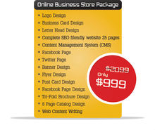 Online Business store Package