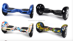 China manufacturer chirstmas gift for kids adults standing up Mini hoverboard 10 inch 2 wheel electric self balancing scooter