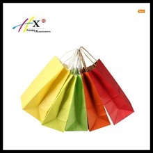 Mix Color Paper Gift Candy Bag Rope Handle