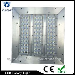 Led canopy light fixture aluminum square box 100watt