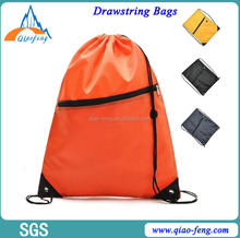 drawstring shopping bag polyester drawstring pouch drawstring sports bag