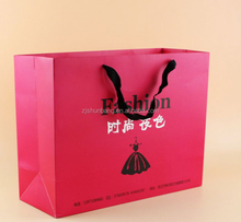 2015 cheap private label paper bag/ gift bag design/ carry private label paper bag for retail store