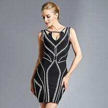 dos tono de vestido de cóctel de nuevo modelo de vestidos