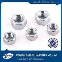 Quick lock nut zinc plated nut heavy hex nut