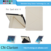 New Arrival Original Genuine 8 Inch Universal Tablet Case Cover for iPad mini 4 origami