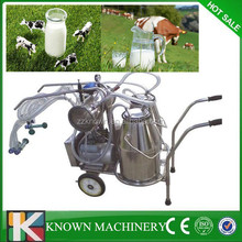 New type used in farm pipeline milking system,portable cow milking machine