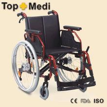silla de ruedas manual para discapacitado, aluminio silla de ruedas