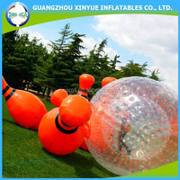Super quality wholesale price zorb ball for zorbing inflatable human bowling ball