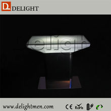 China supplier outdoor ip65 glowing 16 color wireless control modern design led home furniture for dinning room
