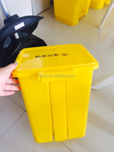 plastic products with lids cheap trash bin pedal bin for kitchen