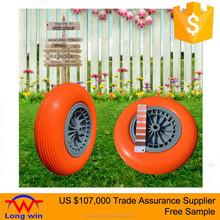 US $107,000 Trade Assurance 4.00 - 8 Pu Foam Wheelbarrow Tire and Wheel