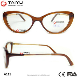 2015 quick delivery optical frame fashionable acetate optical frame with FDA&CE approval optical frame