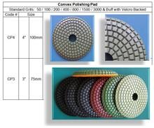 High quality dry polishing /diamond hand polishing pads
