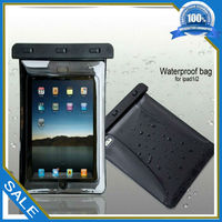 Christmas promotion pvc clear dry case for ipad air