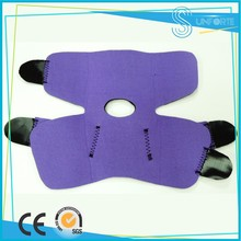 Adjustable Purple SPONPRENE/NEOPRENE Ankle Support