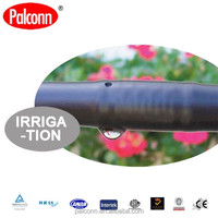 PE material drip irrigation pipe and fittings for farm and agricultur