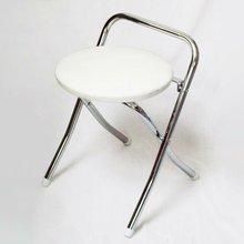 Portable Round & Small folding backrest Stool