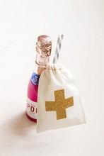 Glitter Hangover Kit Bags - Bachelorette Party Favor