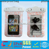 2014 hottest waterproof silicone case with chain for iphone 4