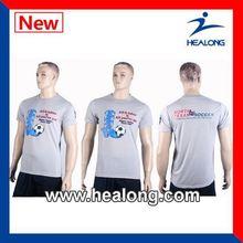 Healong Manufacturer 100 Polyester Korea Children T-Shirt