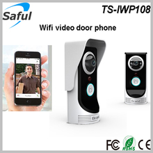New product 2MP 160 degree wifi doorbell camera wifi video door phone intercom door ring TS-IWP108