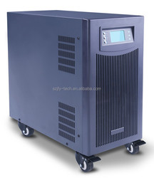 Overcharge protected hybrid charger and inverter, solar controller charger