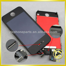 YLX mobile phone lcd for iphone 4/4s touch,original pass lcd for iphone 4,mobile phone lcd assembly