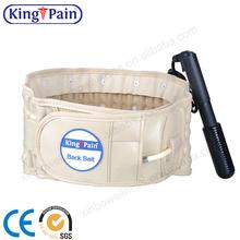 popular lumbar cinturón médico espinal de presión de la tracción de aire
