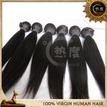 3 Bundles Unprocessed Virgin Malaysian Straight Hair Extensions Human Weave Weft