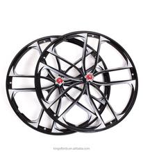 26 Magnesium Alloy 5 spoke bicycle wheel