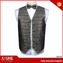 100% Polyester Men's Vest For Fashion Designer Supplier.