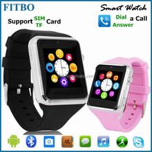 Super Slim bluetooth wrist watch with SIM 1.3M Camera for Samsung Sony LG AUSU MOTO