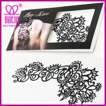 Custom Arts face tattoo stickers/ temporary face tattoo
