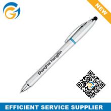 Silver Body Touch Ball Pen /Office School Suppliers