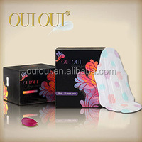 Branded ladies absorbency softness colour bamboo sanitary pad / sanitary napkin towel side effects with anion of manufacturers