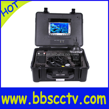 sony ccd 700tvl Underwater camera 360 degree rotating 20m to 300m cable