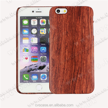 Wholesale Low Price Real Rose Wood Mobile Phone Cover Case For Iphone 5.
