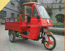 Motorcycle electric driving type motorcycle chopper tricycle