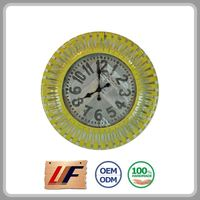 High Quality Decoration Various Colors Metal Wall Clock System