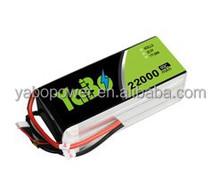 22.2v 60C/120C 6s 22000mAh lipo battery for quadcopter DJI S1000 / DJI S1000 LiPO Battery Pack