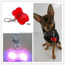 Bone Shaped Flashing ID Pet Tag